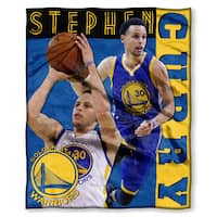 NBA 575 Warriors Stephen Curry Silk Touch Throw