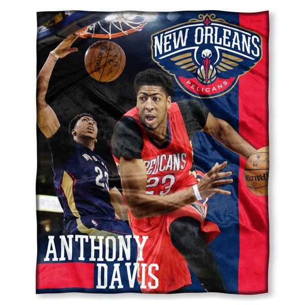 NBA New Orleans Pelicans Anthony Davis Silk Touch Throw