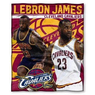 NBA 575 Cavaliers Lebron James Silk Touch Throw