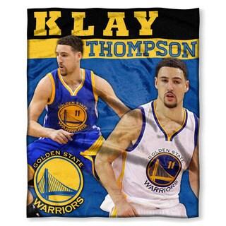 NBA 575 Warriors Klay Thompson Silk Touch Throw