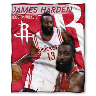 NBA 575 Rockets James Harden Silk Touch Throw