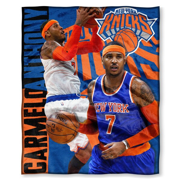 NBA 575 Knicks Carmelo Anthony Silk Touch Throw