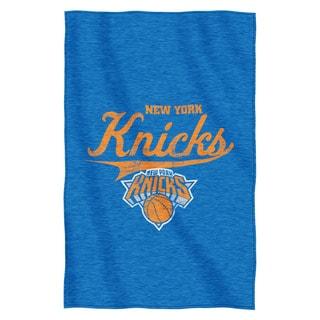 NBA 100 Knicks Sweatshirt Throw