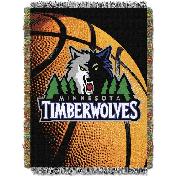 NBA 051 Timberwolves Photo Real Throw