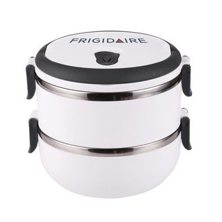 Frigidaire White 2-tier Bento Lunch Carrier