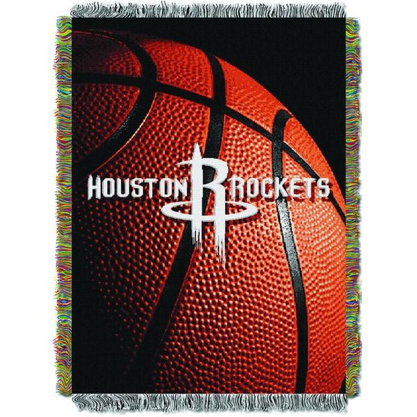 NBA 051 Rockets Photo Real Throw