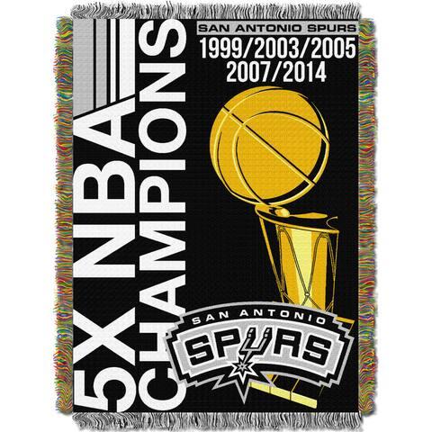 NBA 051 Spurs Commemorative Series Throw