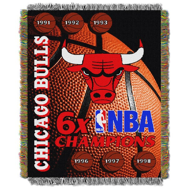 NBA 051 Bulls Commemorative Series Throw
