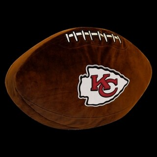 The Northwest Company NFL 199 Chiefs Polyester 3-D Sports Pillow