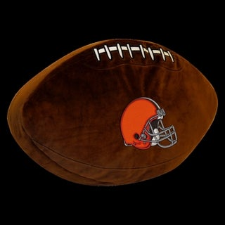 The Northwest Company NFL Cleveland Browns 3D Plush Sports Pillow