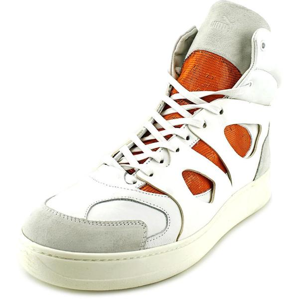 0c7258f4bfe Shop Alexander McQueen By Puma Men s  MCQ Move Mid Open  Leather ...