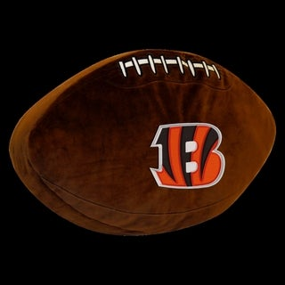 The Northwest Company NFL 199 Bengals Polyester 3D Sports Pillow
