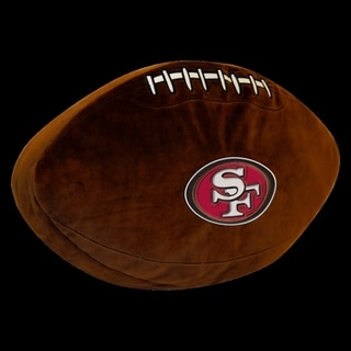 The Northwest Company NFL 199 49ers Polyester 3D Sports Pillow