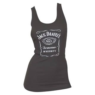 Shop Jack Daniels Women S Black Whiskey Label Tank Top