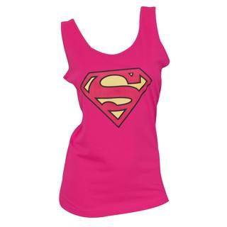 Superman Women's Pink Tank Top