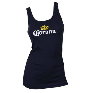 Corona Women's Midnight Blue Cotton Tank Top