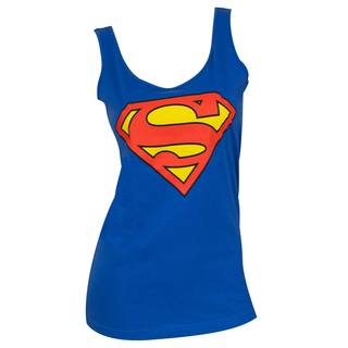 Superman Logo Blue Women's Tank Top