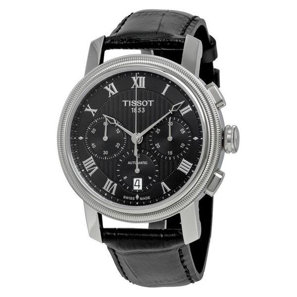 42fddf580a55 ... Men s Watches. Tissot Men  x27 s T0974271605300   x27 Bridgeport  x27   Chronograph