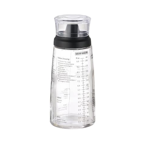 Leifheit Black Salad Dressing Shaker