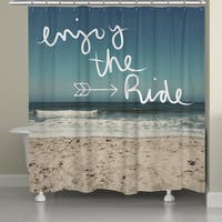 Laural Home Ocean Inspiration Shower Curtain