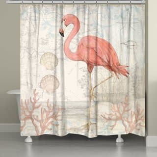 Pink Shower Curtains For Less | Overstock.com - Vibrant Fabric ...