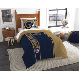 The Northwest Company Official NFL Los Angeles Rams Twin Applique 2-piece Comforter Set