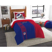 The Northwest Company Official NFL Buffalo Bills Twin Applique 2-piece Comforter Set