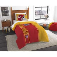 The Northwest Company Official NFL Kansas City Chiefs Twin Applique 2-piece Comforter Set