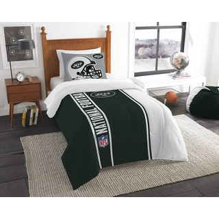 The Northwest Company Official NFL New York Jets Twin Applique 2-piece Comforter Set
