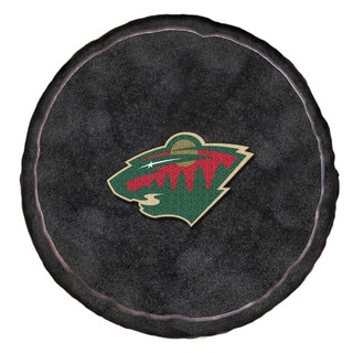 The Northwest Company NHL 199 Wild Black Polyester 3D Sports Pillow