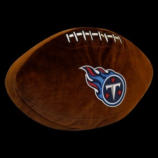 The Northwest Company NFL 199 Titans Polyester 3D Sports Pillow