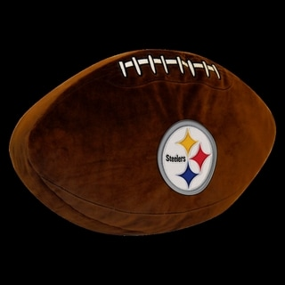 The Northwest Company NFL 199 Steelers 3D Sports Pillow