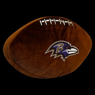 NFL 199 Baltimore Ravens Brown Polyester 3D Sports Pillow