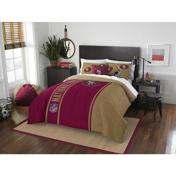 The Northwest Company Official NFL San Francisco 49ers Full Applique 2-piece Comforter Set