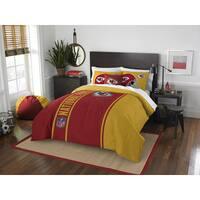 The Northwest Company Official NFL Kansas City Chiefs Full Applique 3-piece Comforter Set