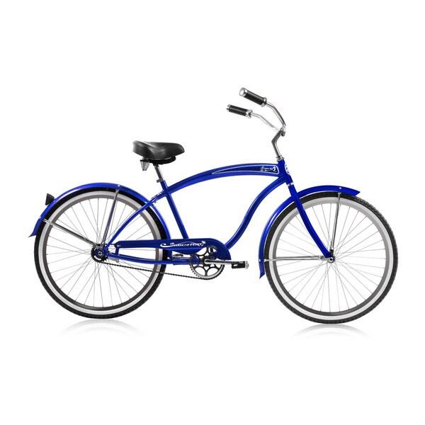 Micargi Rover Men's Blue 26-inch Single-speed Cruiser Bicycle