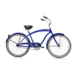 Micargi Rover Men's Blue 26-inch Single-speed Cruiser Bicycle