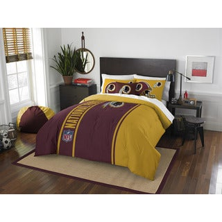 The Northwest Company Official NFL Washington Redskins Full Applique 3-piece Comforter Set