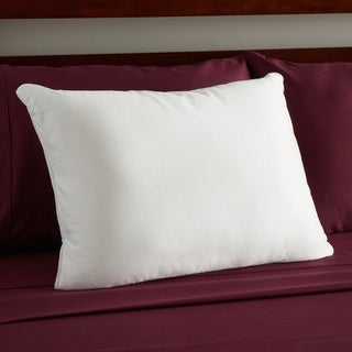 Sealy Posturepedic Nano Cool Double Knit Low Profile Pillow