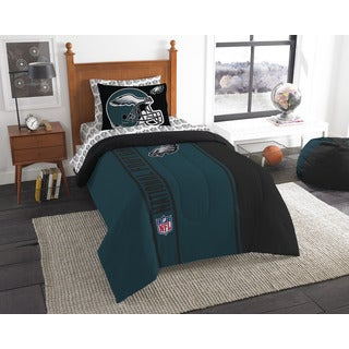 The Northwest Company NFL Philadelphia Eagles Twin 5-piece Bed in a Bag with Sheet Set