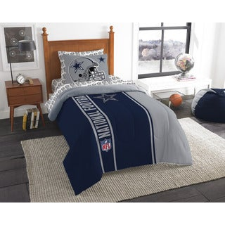 The Northwest Company NFL 845 Cowboys Twin 5-piece Bed in a Bag with Sheet Set