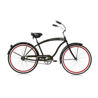 Black Rover 26-inch Single-speed Cruiser