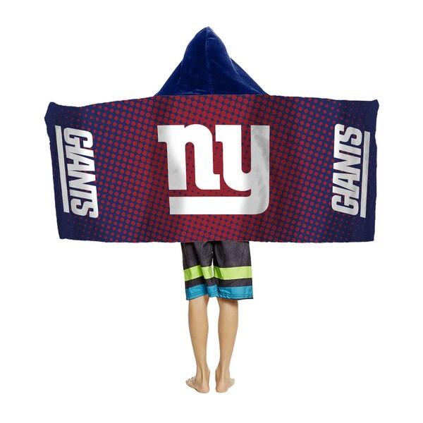 NFL 914 NY Giants Youth Hooded Beach Towel