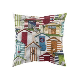 Beach Cottage Decorative 18-inch Throw Pillows (Set of 2)