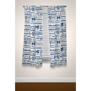 The Northwest Company COL Michigan Anthem Curtain Panel Pair