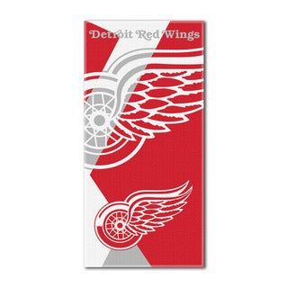 NHL 622 Red Wings Puzzle Beach Towel