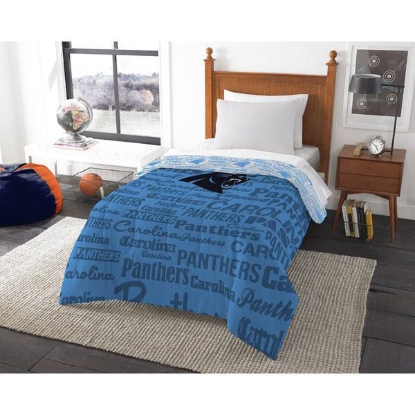 The Northwest Company Official NFL Carolina Panthers Anthem Twin Comforter