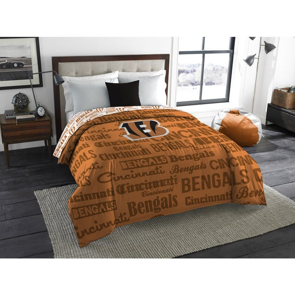 The Northwest Company Official NFL Cincinnati Bengals Anthem Full Comforter