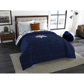 The Northwest Company Official NFL 877 Broncos Anthem Full Comforter