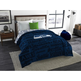 The Northwest Company Official NFL 877 Seahawks Anthem Full Comforter